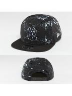 New Era Snapback Cap NY Yankees Marble 9Fifty nero