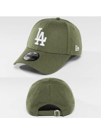 New Era snapback cap Seasonal Heather LA Dodgers olijfgroen