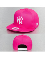 New Era Snapback Cap Fashion Essential NY Yankees pink