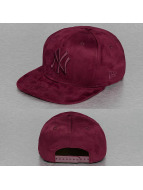 New Era Snapback Cap Suede ToneNY Yankees rot