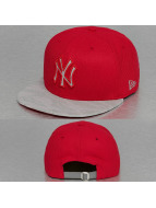 New Era Snapback Cap Reflect Vize New York Yankees rot