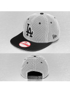 New Era Snapback Cap Nylon Mesh LA Dodgers schwarz