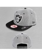 New Era Snapback Cap Nylon Mesh Oakland Raiders schwarz
