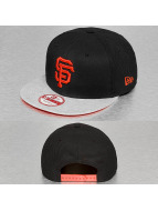 New Era Snapback Cap Jersey Diamond San Francisco Giants schwarz