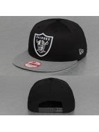 New Era Snapback Cap NFL Visor Mesh Oakland Raiders 9Fifty schwarz