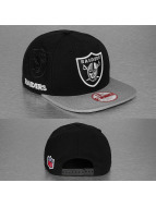 New Era Snapback Cap NFL Oakland Raiders schwarz