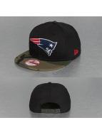 New Era Snapback Cap Emea New England Patriots schwarz