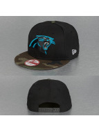 New Era Snapback Cap Emea Carolina Panthers schwarz