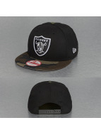 New Era Snapback Cap Emea Oakland Raiders schwarz