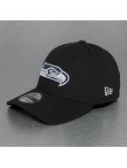 New Era Snapback Cap Emea Seattle Seahawks schwarz