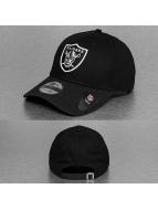 New Era Snapback Cap Team Heather Visor Oakland Raiders schwarz