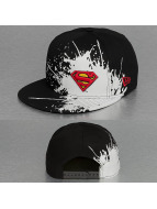 New Era Snapback Cap Splatways Superman schwarz