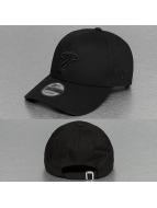 New Era Snapback Cap NBA Black On Black Miami Heat 9Forty schwarz