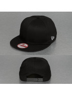 New Era Snapback Cap Cotton schwarz