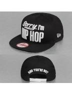 New Era Snapback Cap INJ Sorry Im Hip Hop schwarz