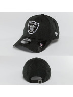 New Era Snapback Cap Heather Team Essential schwarz