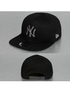 New Era Snapback Cap MLB Metal Badge NY Yankees schwarz