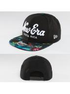 New Era Snapback Cap Costra Rica Script schwarz