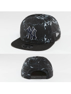 New Era Snapback Cap NY Yankees Marble 9Fifty schwarz