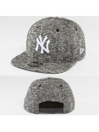 New Era Snapback Cap NY Yankees Black French Terry 9Fifty schwarz