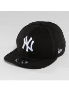 New Era Snapback Cap Slub NY Yankees 9Fifty schwarz