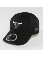 New Era Snapback Cap Reflect Chicago Bulls 9Forty schwarz