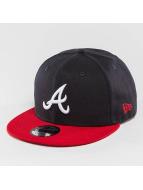 New Era Snapback Cap Atlanta Braves schwarz