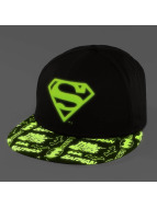 New Era Snapback Cap GITD Character Superman 9Fifty schwarz