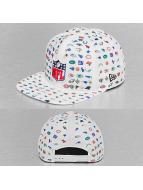 New Era Snapback Cap Micro Pattern NFL weiß