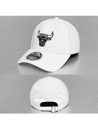 New Era Snapback Cap NBA Reflective Pack Chicago Bulls 9Forty weiß