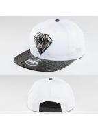 New Era Snapback Cap Snakediamond weiß