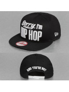New Era snapback cap INJ Sorry Im Hip Hop zwart