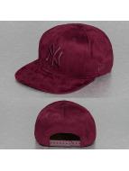 New Era Snapback Capler Suede ToneNY Yankees kırmızı
