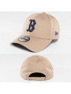 New Era Snapback Capler MLB League Essential Boston Red Sox kahverengi