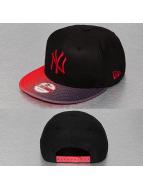 New Era Snapback Caps Grade Visor NY Yankees čern