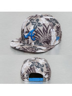 New Era Snapback Caps Florical Atlanta Braves šedá