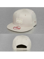 New Era Snapback Caps Patched Tone beige