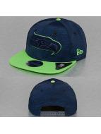 New Era Snapback Caps NFL Sports Jersey Seattle Seahawks blå