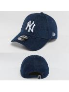 New Era Snapback Caps Denim Essential NY Yankees blå