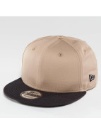 New Era Snapback Caps Flag Contrast brun