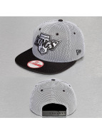 New Era Snapback Caps Nylon Mesh LA Kings czarny
