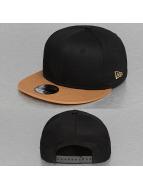 New Era Snapback Caps Contrast Classic czarny