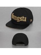 New Era Snapback Caps Gangsta 9Fifty czarny