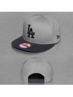 New Era Snapback Caps Jersey Team LA Dodgers grå