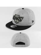 New Era Snapback Caps Team Heather Mesh LA Kings VC grå