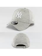 New Era Snapback Caps Team Jersey NY Yankees grå
