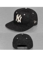 New Era Snapback Caps Felt Wool NY Yankees harmaa