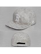 New Era Snapback Caps Jersey Fleck Boston Red Sox harmaa
