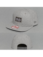 New Era Snapback Caps Quilted Patch harmaa
