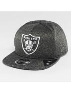 New Era Snapback Caps Jersey Tech Oakland Raiders 9Fifty harmaa